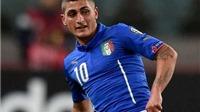 Tuyển Italy: Marco Verratti lỡ hẹn với EURO 2016