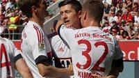 Ingolstadt 1-2 Bayern Munich: Lewandowski giúp đội quân của Pep vô địch sớm 1 vòng đấu