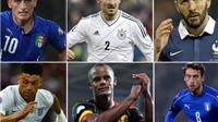 CHÙM ẢNH: Những ngôi sao lỡ hẹn với EURO 2016