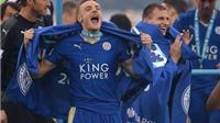 Jamie Vardy: 'Thật khó để diễn tả thành công của Leicester'