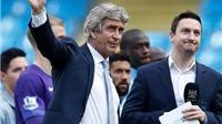 Pellegrini nhận quà chia tay trị giá 7 triệu bảng từ Man City