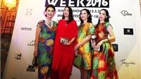 Hoa hậu hội tụ ở Tuần lễ Nhà thiết kế Thời trang Việt Nam Xuân Hè 2016