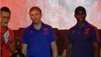 Huyền thoại Man United ấn tượng với CĐV Việt Nam