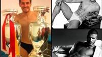 Học Beckham và Ronaldo, Casillas ra mắt thương hiệu đồ lót