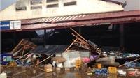 CHÙM ẢNH: Cháy chợ Đào Hương của người Việt Nam ở Lào