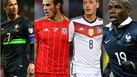 10 cầu thủ được kỳ vọng tỏa sáng ở VCK EURO 2016