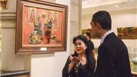Văn Dương Thành ra mắt bộ tranh vẽ về Đức Phật và tâm linh