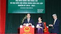 Chủ tịch nước Trần Đại Quang bỏ phiếu bầu cử tại Thanh Xuân, Hà Nội