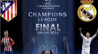 Thống kê chỉ ra Real sẽ cực khó thắng Atletico ở Chung kết Champions League