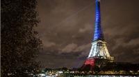 EURO 2016: Tháp Eiffel 'khoác áo mới' mỗi đêm