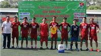 Giải bóng đá mini Hội Nhà Báo TP.HCM 2016: TTXVN đại thắng ngày ra quân