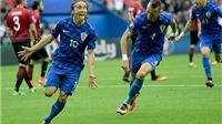 Luka Modric lập 'siêu phẩm' sút xa giúp Croatia dẫn trước Thổ Nhĩ Kỳ