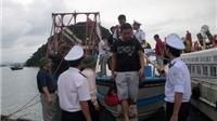 Hơn 1.000 du khách mắc kẹt trên đảo Cô Tô đã về đất liền an toàn
