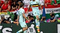 Hungary 0-4 Bỉ: Loại Hungary, Bỉ hẹn xứ Wales ở Tứ kết