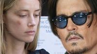 Johnny Depp đổi hình xăm tên vợ trẻ Amber Heard thành 'đồ cặn bã'