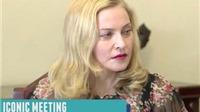 Madonna khóc khi nghe kể về bé gái 5 tuổi bị cưỡng hiếp ở Kenya