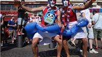 Nước Pháp lên cơn sốt vì đội Áo Lam