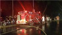 Hải Dương: Quán Bar Boom bị lửa thiêu rụi