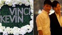 Vương Chí Hiền cưới bạn trai, đám cưới đồng tính đầu tiên trong làng giải trí Hong Kong