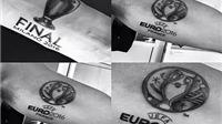 Khám pha hình xăm đặc biệt của trọng tài HOT nhất châu Âu