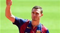 Vermaelen còn vô địch Liga nhiều hơn Cristiano Ronaldo!