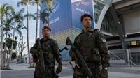 Olympic 2016: Náo loạn ở sân vận động vì bom