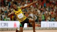 ĐỒ HỌA: Usain Bolt, kỷ lục gia trên đường chạy Olympic