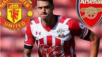 CHUYỂN NHƯỢNG ngày 17/8: M.U và Arsenal tranh giành Fonte. Real ra giá 75 triệu euro cho James Rodriguez