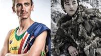 Cộng đồng mạng phát sốt vì VĐV Olympic giống nhân vật trong 'Game of Thrones'