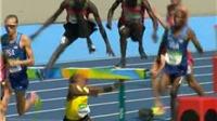 VĐV điền kinh vuột huy chương Olympic vì tai nạn đáng tiếc