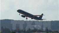 Nhiều chuyến bay hạ cánh xuống Nội Bài lùi sau 21h do bão số 3