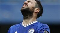 Bị thất sủng ở Chelsea, Cesc Fabregas đứng trước nguy cơ thành 'vật tế thần'