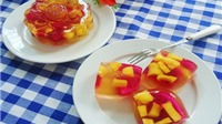 Ngon ngất ngây với bánh trung thu nhân hoa quả