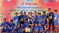 V.League 'nóng' trọng tài ngoại, HAGL gây 'sốt' với chức vô địch U15 quốc gia
