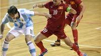 Tuyển futsal Việt Nam lại thua ngược Argentina