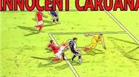 Cầu thủ Malta dính thẻ đỏ oan ở vòng loại World Cup 2018