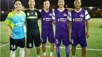 Cựu tuyển thủ tham dự giải bóng đá Tạp chí Công Thương