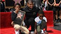 Usher 'yêu cầu' fan giữ sạch ngôi sao của anh trên Đại lộ Hollywood