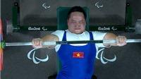 Thất bại trong 3 lần cử, lực sỹ Việt Nam trắng tay rời Paralympic 2016