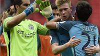 Guardiola bất ngời CA NGỢI Bravo ở derby Manchester