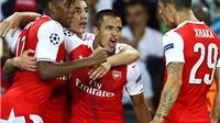 Những cầu thủ Arsenal nào nhận điểm 2 và 3 trận gặp PSG?