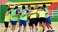 Tuyển Futsal Việt Nam tập hồi phục và xả stress