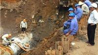 Nhiều tỷ đồng trôi theo đường ống vỡ
