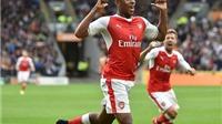 NGẠC NHIÊN: Iwobi kiến tạo cho Arsenal nhiều hơn cả Oezil