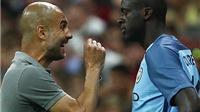 Guardiola: 'Không xin lỗi thì Yaya Toure đừng mơ được ra sân!'