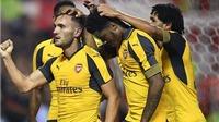 Nottingham Forest 0-4 Arsenal: Lucas Perez lập cú đúp, Xhaka lại sút xa ghi bàn