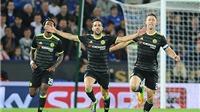 Leicester 2-4 Chelsea: Fabregas lập cú đúp trong 2 phút, Chelsea ngược dòng ngoạn mục
