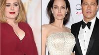 Adele dành tặng đêm hòa nhạc ở NYC cho Brad Pitt & Angelina Jolie