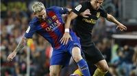 Barcelona 1-1 Atletico Madrid: Mất điểm vì bế tắc, mất cả Messi vì chấn thương