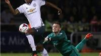 Phil Neville: 'Rashford phải được đá chính trước Leicester'